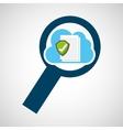 cloud computing data storage vector image vector image