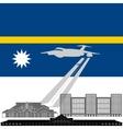 Nauru vector image vector image