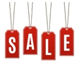 Sale Price tags isolated on white background vector image vector image