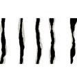torn paper design element vector image