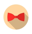 Bow Tie flat Icon vector image