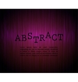 Abstract gradient line red background vector image