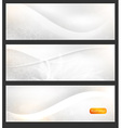 Banner Set for Businesses vector image vector image
