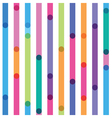 bright strips seamless pattern vector image vector image