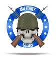 Military club or company badges and labels vector image vector image
