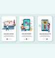 online casino mobile app onboarding screens