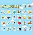 poster design for english alphabets