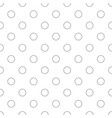 seamless monochrome circle pattern - simple vector image vector image