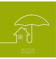 Symbol of the house vector image