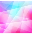 Abstract color template low poly background vector image vector image