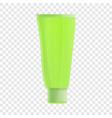 aloe tube cream icon cartoon style vector image vector image