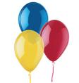 Ballons vector image vector image