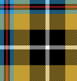 cornish tartan seamless pattern fabric texture vector image vector image