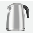 electric kettle on a white background vector image