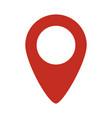 location symbol icon vector image vector image