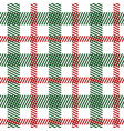 tartan fabric seamless pattern vector image