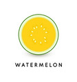watermelon icon summer healthy food vector image vector image