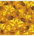 christmas bells seamless vector image