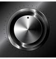 Black metallic tuner vector image