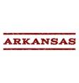 Arkansas Watermark Stamp vector image vector image