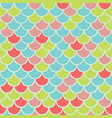colorful fish scale seamless pattern vector image vector image
