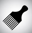 comb design vector image