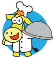 Cook Horse vector image