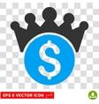 Financial Power Eps Icon vector image vector image