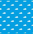 internet cloud pattern seamless blue vector image vector image