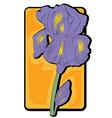 iris clip art vector image vector image