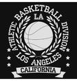 Los Angeles vector image vector image