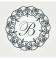 Luxury Logos template flourishes calligraphic vector image vector image