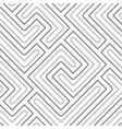 seamless pattern with geometric lines vector image