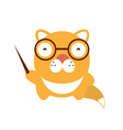 unny character baby cat vector image