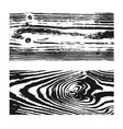 wood texture white black set wooden planks vector image vector image