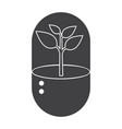 biotechnology icon vector image