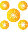 Bursting star vector image vector image