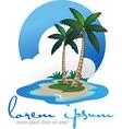 Coco island vector image