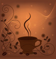 coffee fon 2 vector image