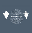 halloween greeting card night background vector image vector image