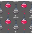 Love Chemistry Gray vector image