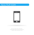 mobile icon for web business finance and vector image vector image