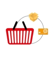 online payment shopping ecommerce vector image