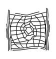 playground kids climbing net vector image