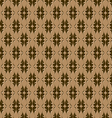 seamless embossed pattern vector image vector image