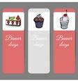 SweetsBanners2 vector image vector image
