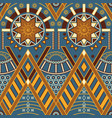 tribal multicolor seamless pattern vector image