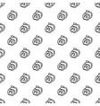 apple pattern seamless vector image