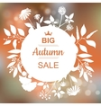 Big Autumn Sale Banner vector image vector image