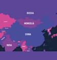 china map high detailed political map china vector image vector image